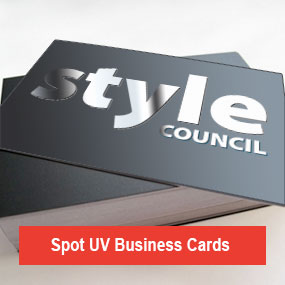 Spot UV Varnish Cards