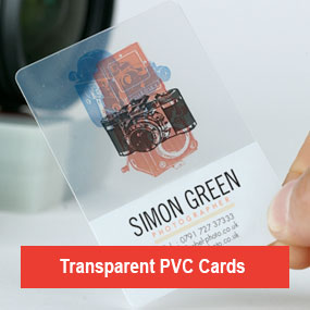 Transparent PVC Cards