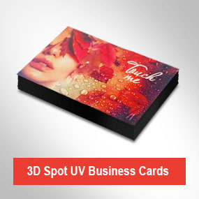 3D Spot Varnish Cards