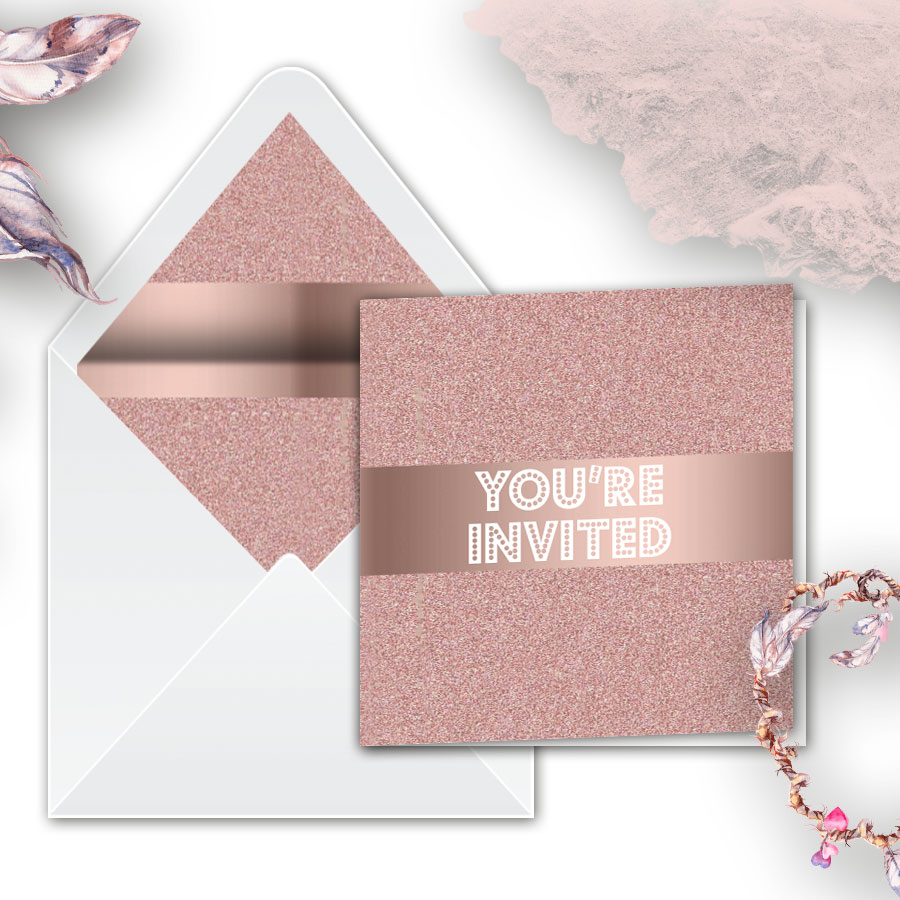 Glitz Wedding Invitations