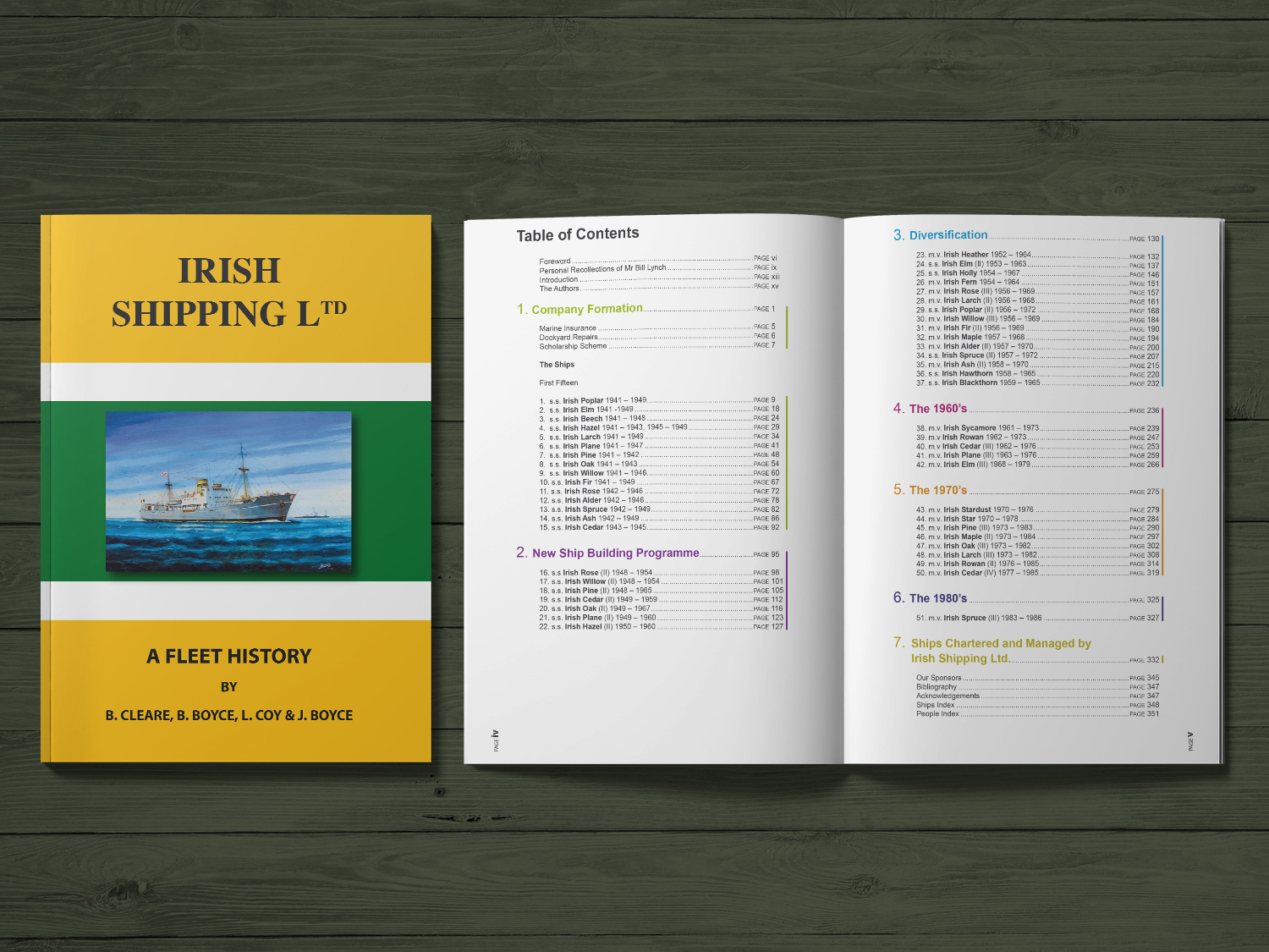 Irish Shipping Book