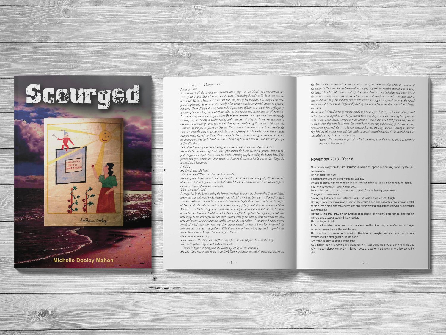 Scourged Book