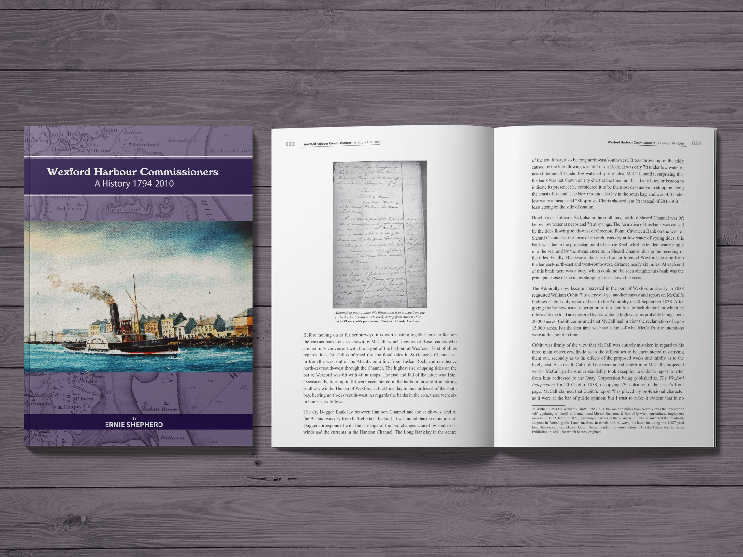 Wexford Harbour Commissioners Book