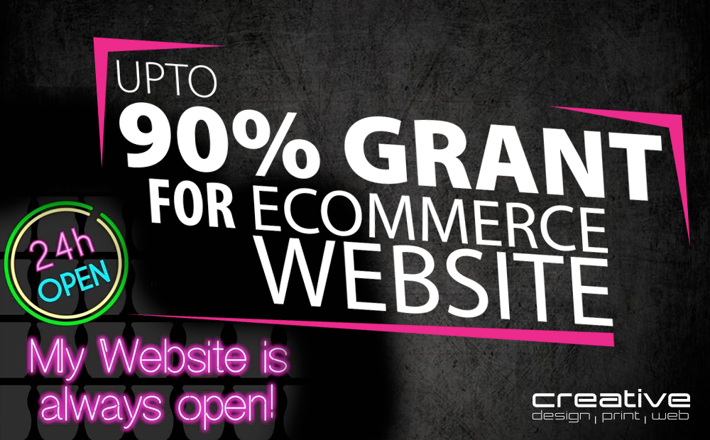 90% Grant eCommerce Website