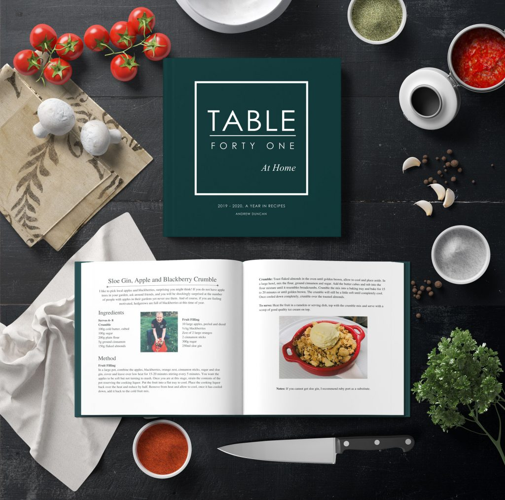 Table Forty One New Recipe Book