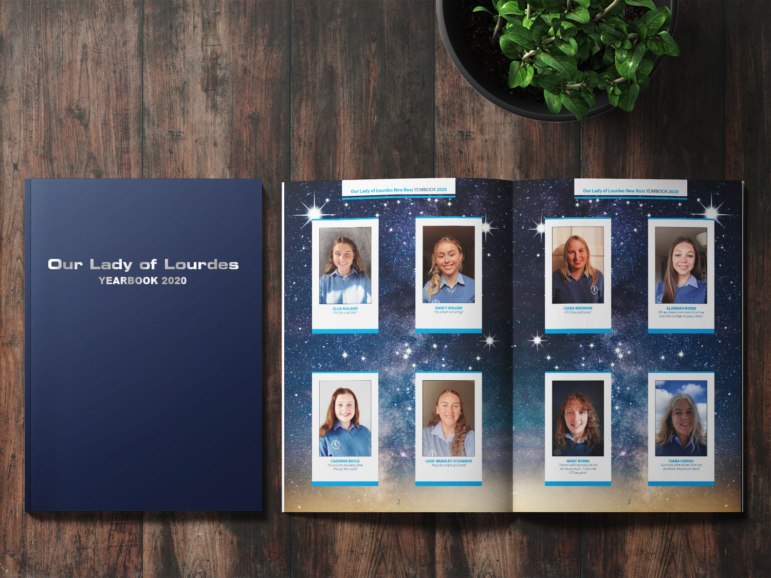 Our Lady's of Lourdes Yearbook