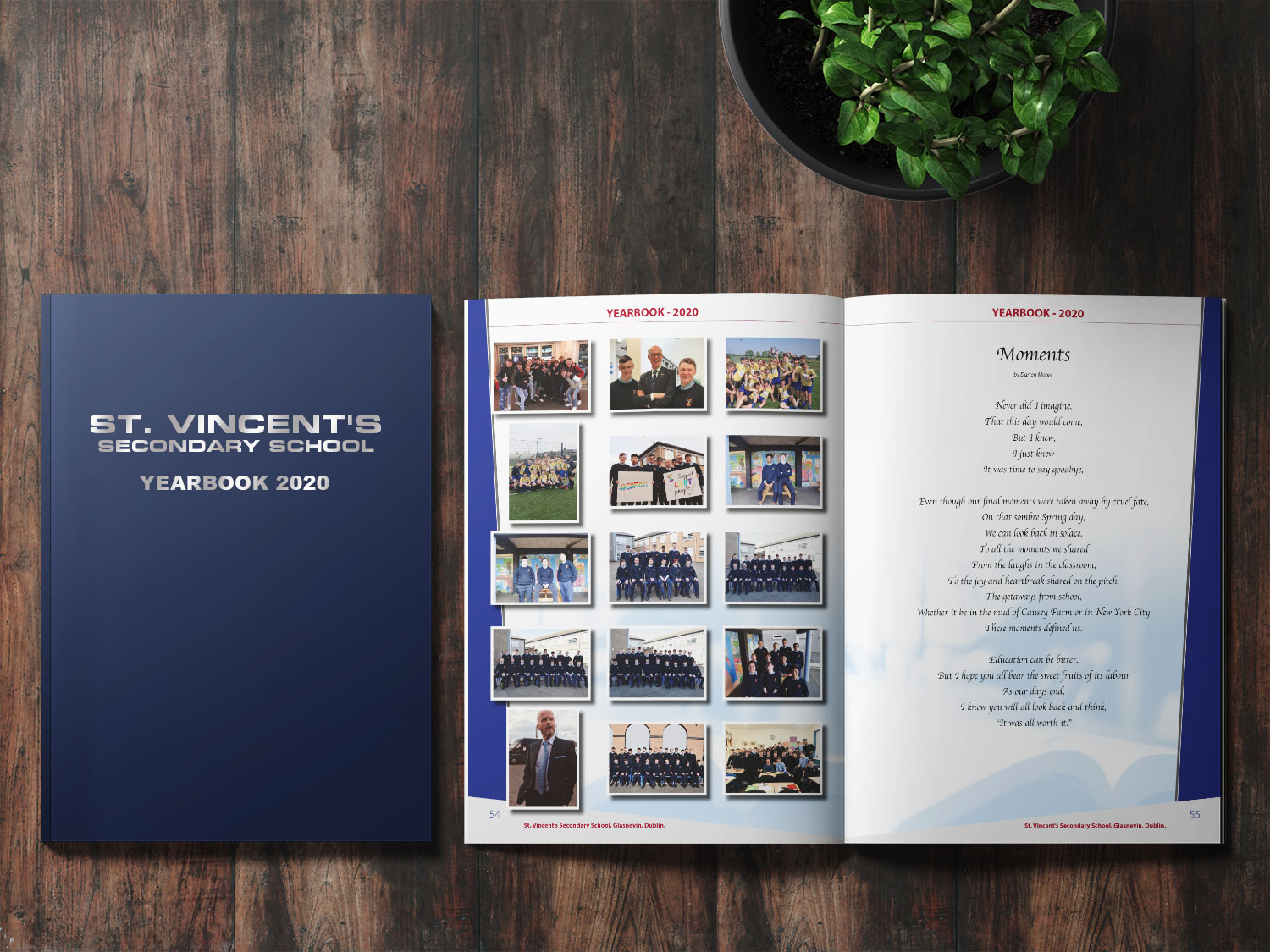 St. Vincent's Yearbook